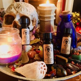 Handmade Magical Spell Writing Inks & Writing Accessories