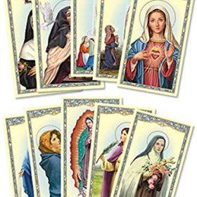 Prayer Cards, Saint Cards, Sigil Cards, Veve Cards, Loa Cards, Demon Cards etc.